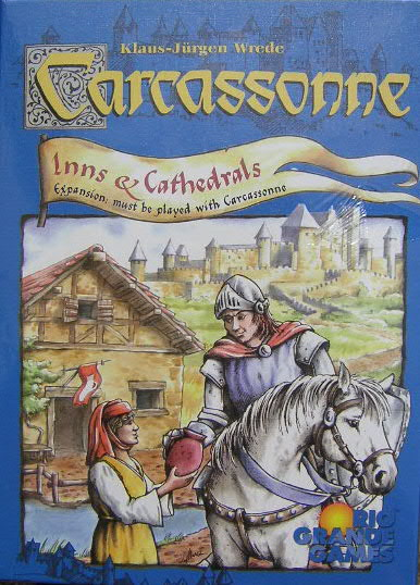 Carcassonne: Inns and Cathedrals Expansion image