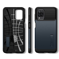 Spigen Slim Armor Case for Galaxy A12 - Gunmetal
