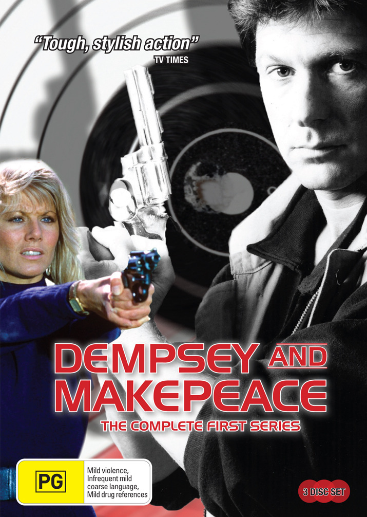 Dempsey And Makepeace - The Complete Series 1 (3 Disc Set) on DVD image