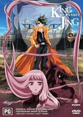 King of Bandit Jing Vol. 4 on DVD
