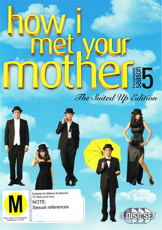 How I Met Your Mother - The Complete Fifth Season on DVD image