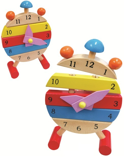 Fun Factory - Teaching Time Clock   Toy   at Mighty Ape NZ