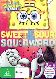 Spongebob Squarepants: Sweet And Sour Squidward on DVD