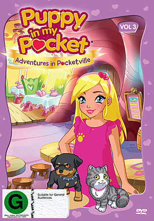 Puppy in My Pocket: Volume 3 on DVD