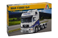 Italeri MAN F2000 6x4 1:24 Scale Model Kit