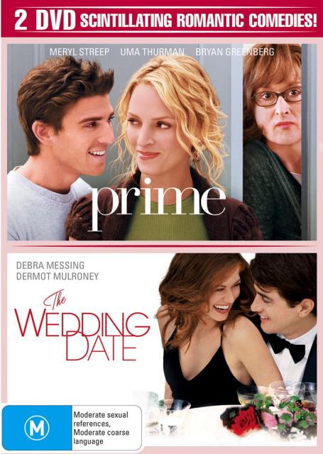 Prime / Wedding Date (2 Disc Set) on DVD image