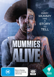 Mummies Alive on DVD