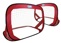 Wahu: Double Soccer Goal Set - Red
