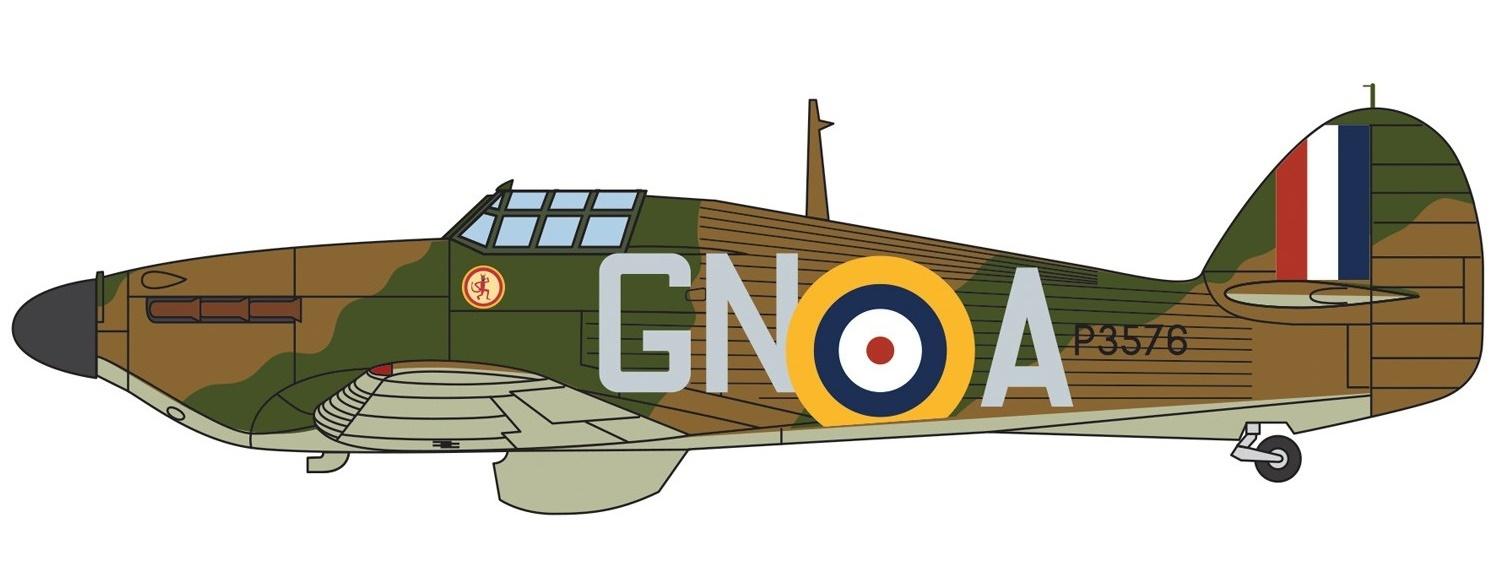 Corgi: 1/72 Hawker Hurricane Mk.I 'Nicholson' - Diecast Model image