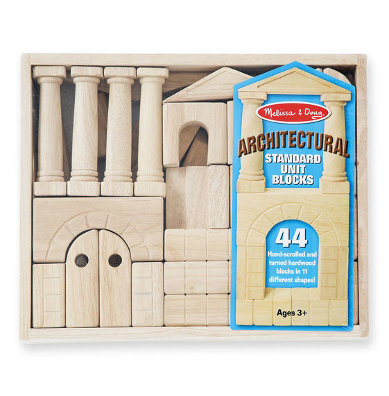 Melissa & Doug: Architectural Unit Blocks