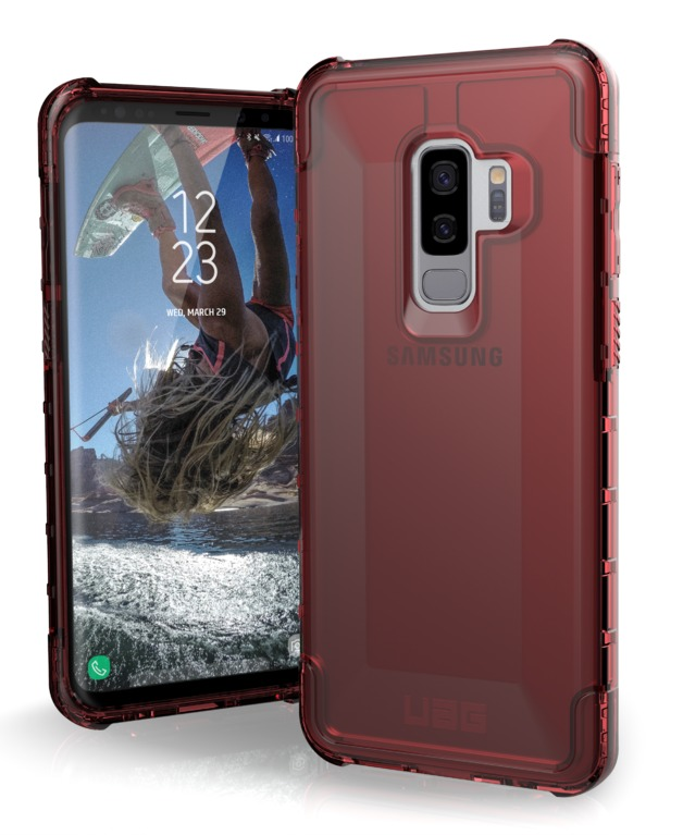 UAG: Plyo Series Case for Galaxy S9+ - (Crimson)