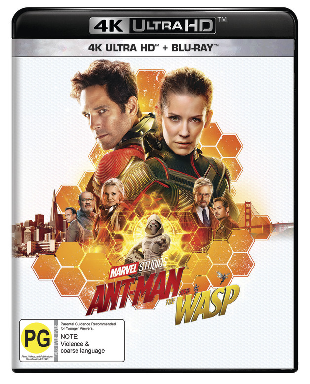 Ant-Man and the Wasp on UHD Blu-ray