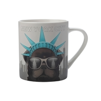 Christopher Vine The Mob International Cities Mug - New York (370ml)