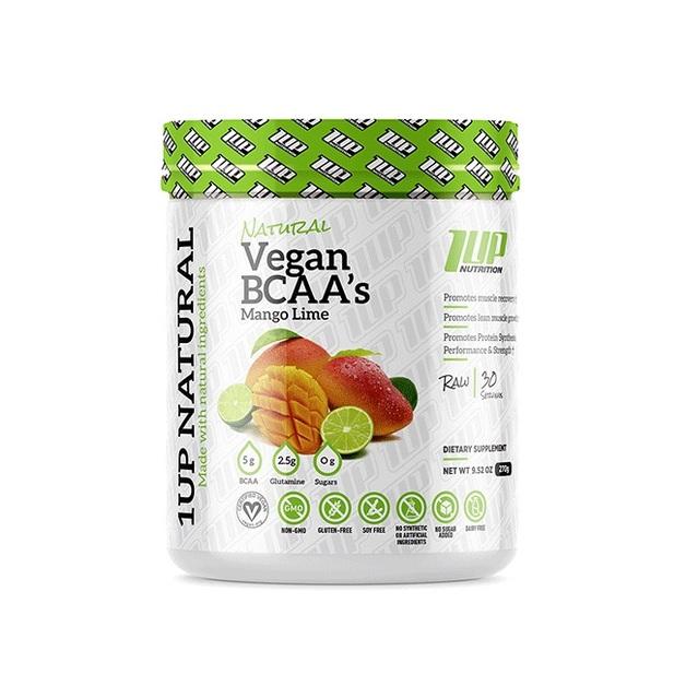 1Up Nutrition Vegan BCAA - Mango Lime (30 Serves)