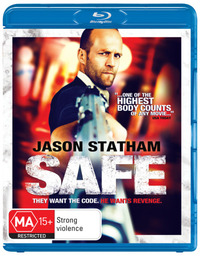 Safe on Blu-ray