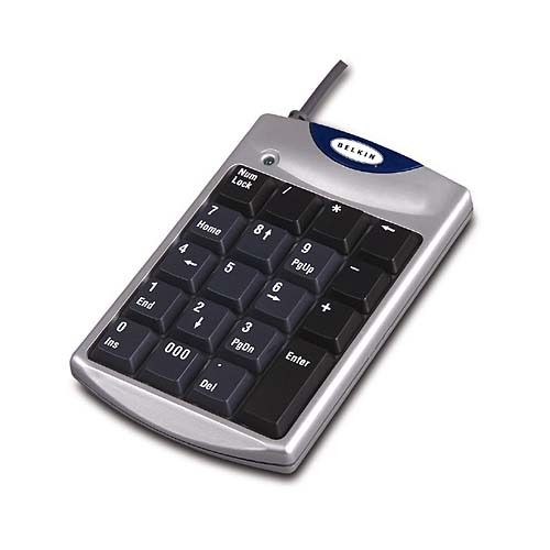 Belkin USB Mobile Numeric Keypad
