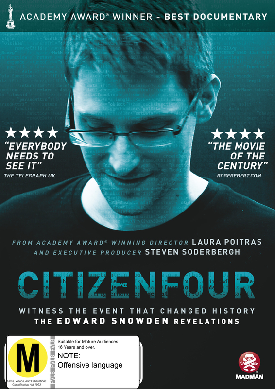Citizenfour on DVD