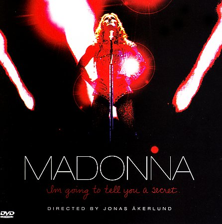 I'm Going To Tell You A Secret [Explicit Lyrics] (CD/DVD) by Madonna image