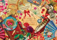 Holdson: 1000pce Puzzle - Treats 'n Treasures Vintage Love Letters