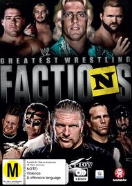 WWE: Wrestling's Greatest Factions on DVD