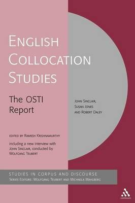 English Collocation Studies by John Sinclair image