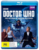 Doctor Who - The Return Of Doctor Mysterio (2016 Christmas Special) on Blu-ray