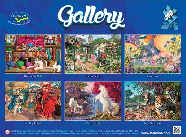 Holdson: 300pce Gallery Series XL Puzzle (Fairy Lake) image
