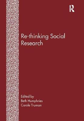 Re-Thinking Social Research by Beth Humphries image