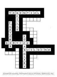 Essential Skills: Customer Service Vocabulary Building Workbook by Jennifer Wilkins image
