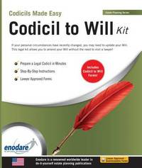 Codicil to Will Kit by Enodare