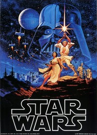 Star Wars: Metal Sign - A New Hope