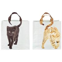 Animal Shopping Bag Cat - Assorted