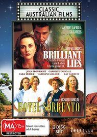 Brilliant Lies / Hotel Sorrento on DVD