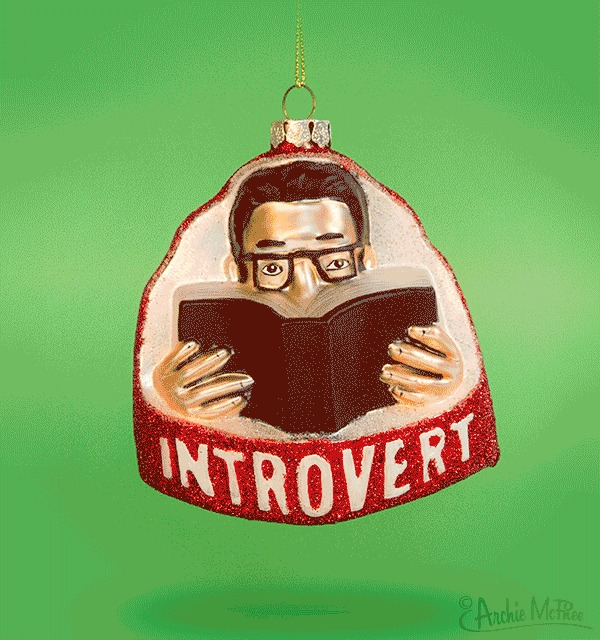Introvert Ornament image