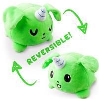 TeeTurtle: Reversible Mini Plush - Puppicorn (Green)
