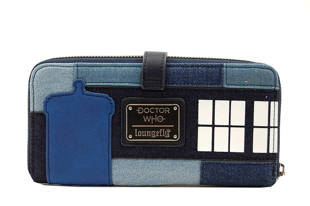Loungefly: Doctor Who - Police Box Zip-Around Wallet