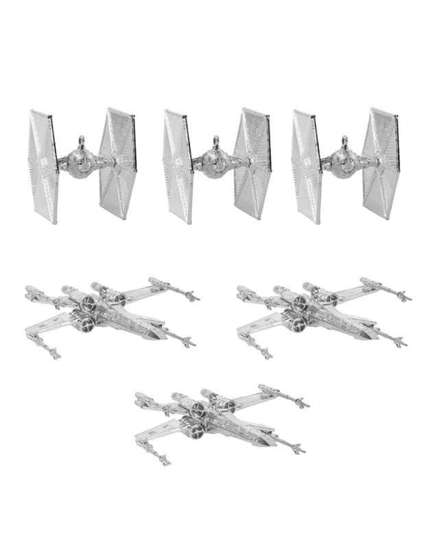 Star Wars: Christmas Tree Ornaments (Silver)
