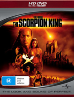 The Scorpion King on HD DVD
