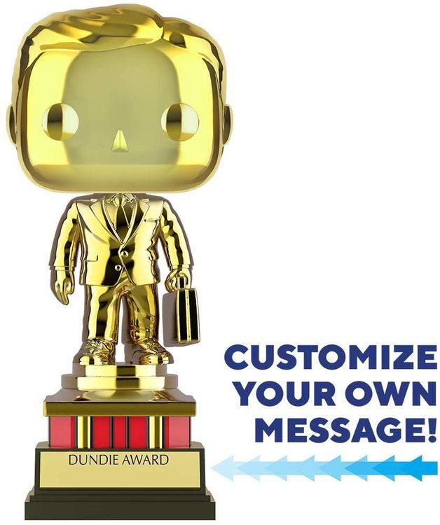 The Office: Dundie Award (Golden) - Pop! Vinyl Figure