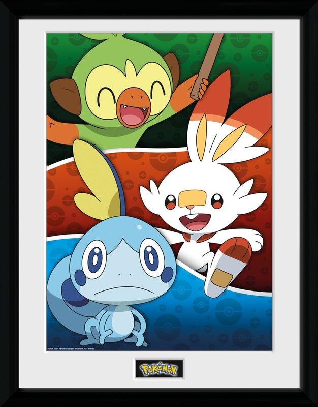 Pokemon: Galar Starters - Collector Print (41x30.5cm)