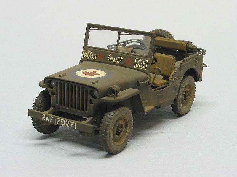 """Tamiya U.S. Willys MB """"Jeep"""" 4x4 Truck 1/35 Model Kit image"""