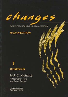 Changes 1 Workbook Italian edition: English for International Communication by Gabriela Bruner