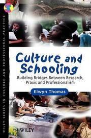 Cultural Influences on Education and Schooling by Elwyn Thomas image