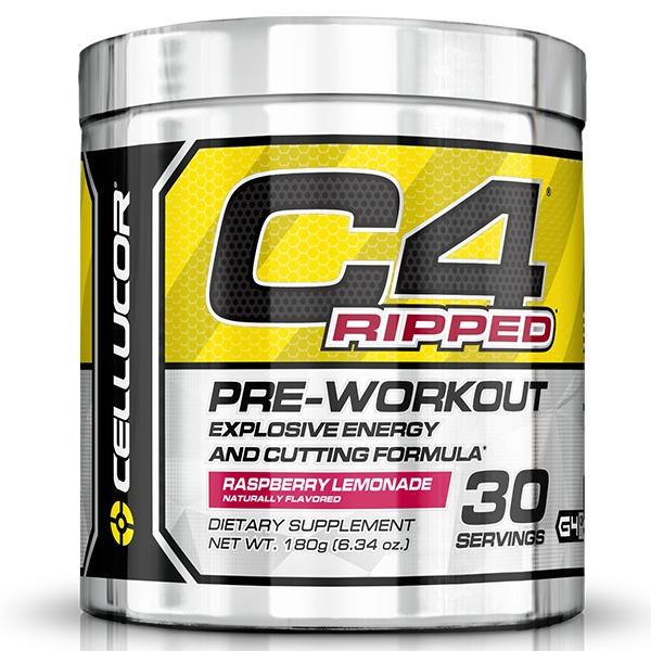 Cellucor C4 Ripped Pre-Workout - Raspberry Lemonade (30 Servings)