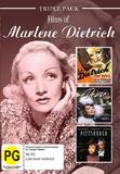 Marlene Dietrich - Triple Pack on DVD