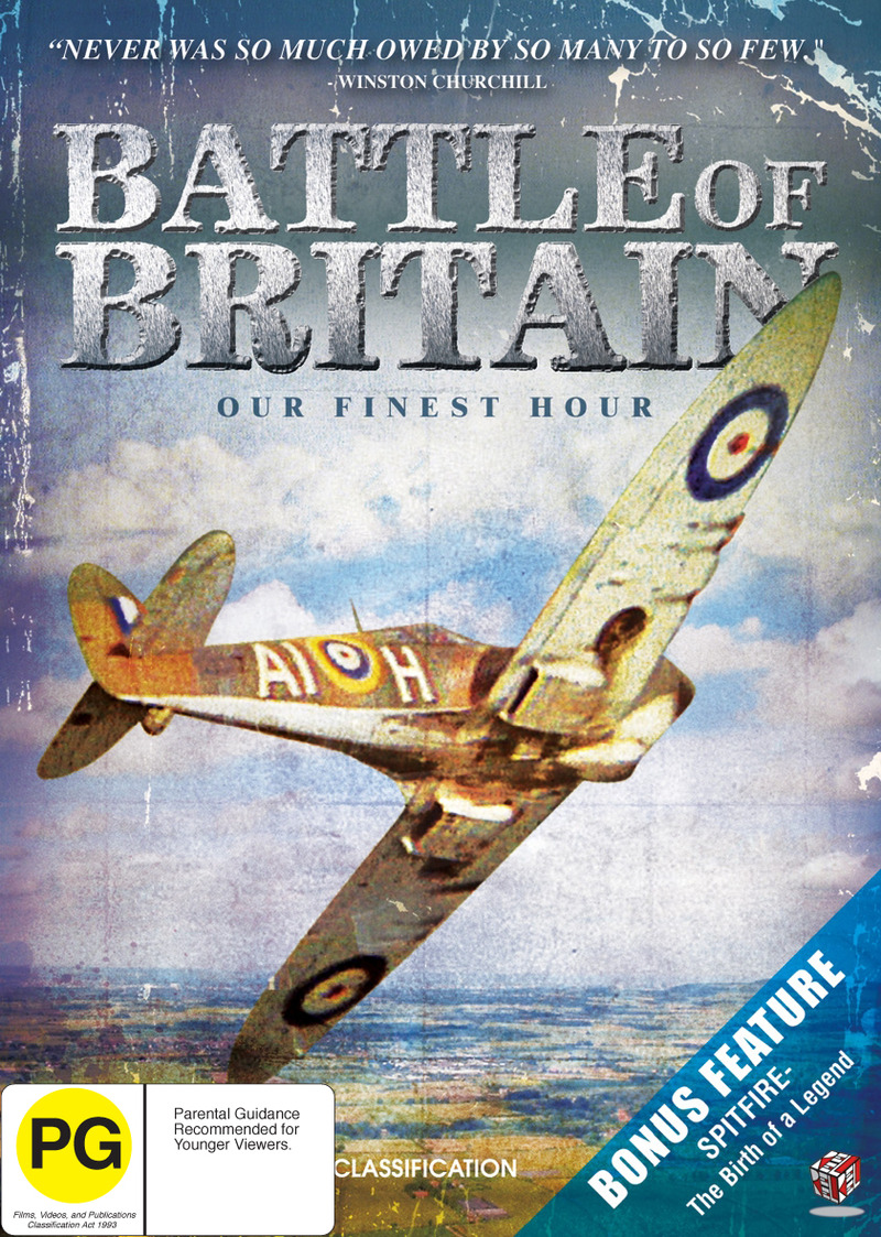 Battle Of Britain - Our Finest Hour (2 Disc Set) on DVD image