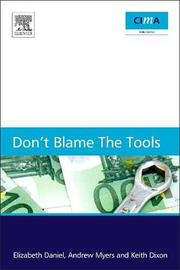 Don't blame the tools by Elizabeth Daniel image