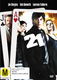 21 on DVD