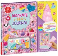 Decorate This Journal by Editors of Klutz