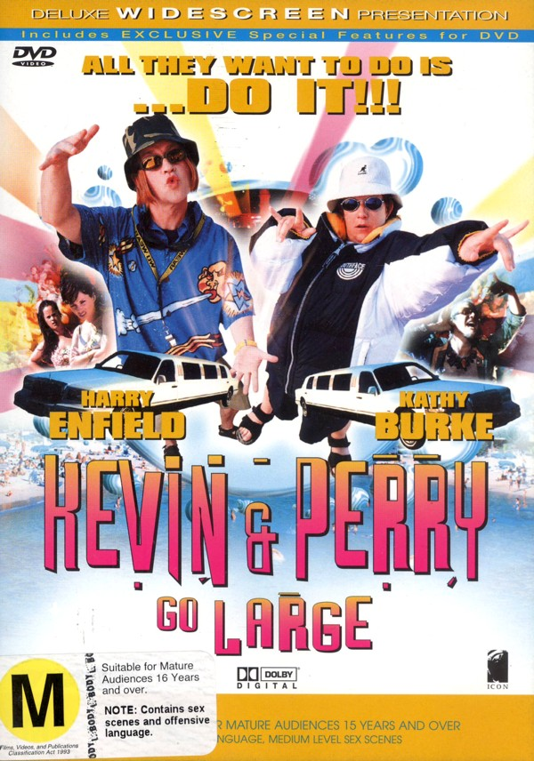 Kevin and Perry Go Large on DVD image